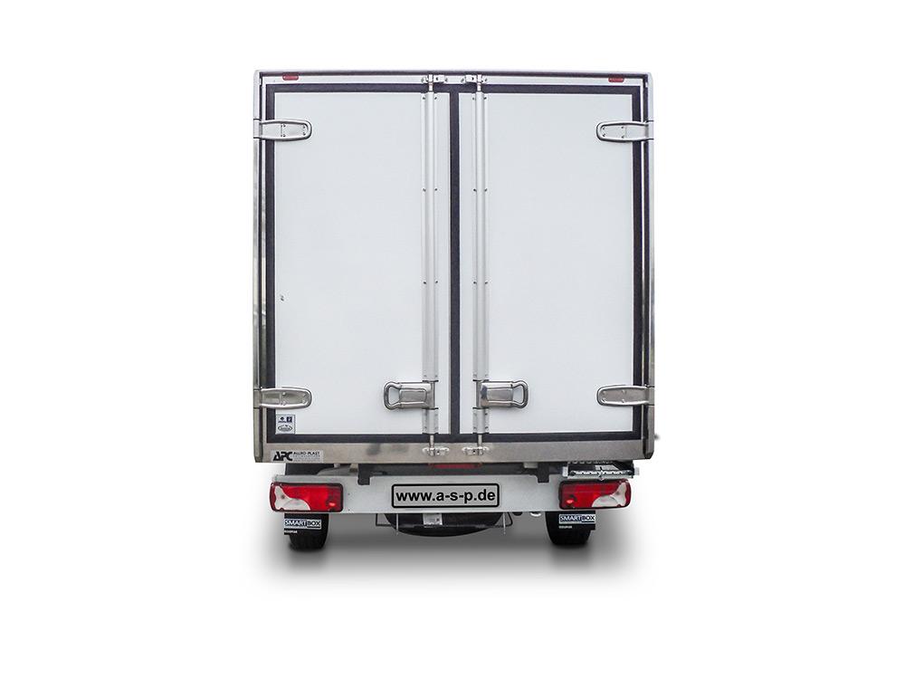 SmartBox Kühlkoffer Mercedes von Heck